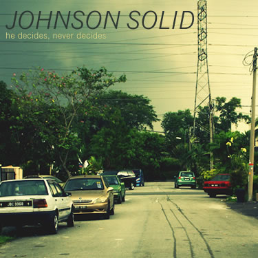 Pseudo Cover: Johnson Solid - he decides, never decides